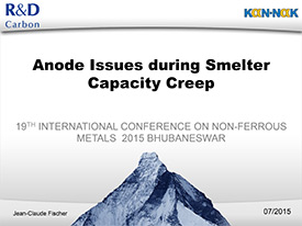 Anode Issues during Smelter Capacity creep